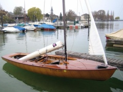 Mader Korsar Sailing dinghy