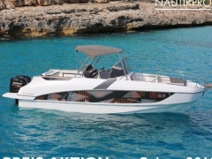 Bénéteau Flyer 8.8 Spacedeck Mit 2x Yamaha F225f Imbarcazione Sportiva