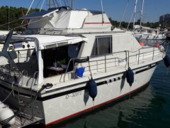 Broom Sedan 35 Fuß Flybridge Yacht
