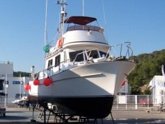 Cheoy Lee trawler 34 Flybridge Yacht