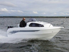 Texas 490 Cabin + 15ps Sportboot