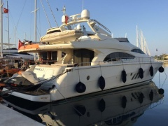Dominator 680 S -Kommission- Flybridge Yacht