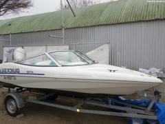 Quicksilver 470 SPORT 90 PS HONDA TRAILER Sportboot