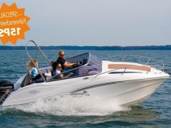 Okiboats 585 Cabin + 15ps Sportboot