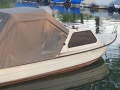 Thoma T 550 Cabin 40PS 2014 Fischerboot