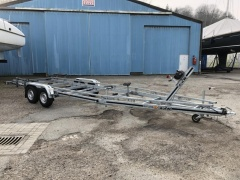 WICK Trailer Motorboot Trailer Tandem
