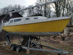 Atlas 25 Kielboot