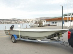 Omega Blower 620 Fishing Boat