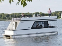 Houseboat Wolin Woonboot