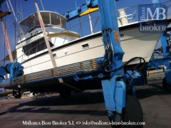 Hatteras 45 Convertible Flybridge Yacht