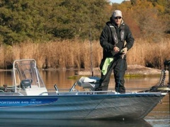 Linder 445 Sportsman Catch Vissersboot