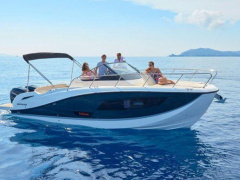 Quicksilver 875 SUNDECK Open boot