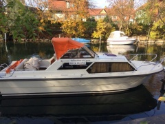 Scand 26 Cabin Pilothouse Boat
