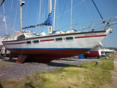 W R Durbin Widnes 44ft TRIPLE KEEL KETCH Sailing Yacht