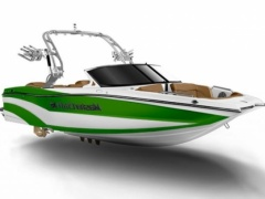 MasterCraft 2018 XT20 Lime Green Beach Wakeboard / Wasserski