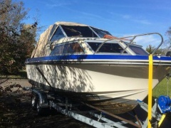 Motorboot Windy 22 Innenborder Pilothouse