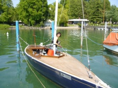 15er 15m2 SNS Holz Sailing Yacht