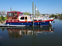 Vedette hollandaise House Boat