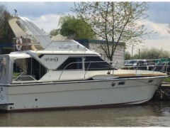 Fairline Corniche 31 Welle Motoryacht