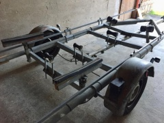 Wolfangel Trailer für Jollenkreuzer Single Axle