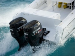 Suzuki DF175 TGL Drive-by-Wire Outboard