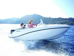 Quicksilver Activ 555 Open Mercury F100 Deck Boat