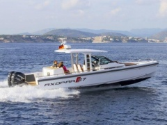 AXOPAR 37 T-Top Speedboot