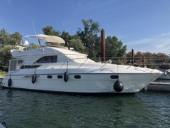 Princess 440 Fly nur Süßwasser 2 Hand Flybridge Yacht