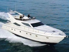 Ferretti 620 Fly Flybridge Yacht