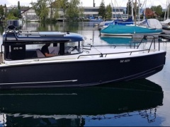 XO Boats 270 Cabin RS Pilothouse Boat