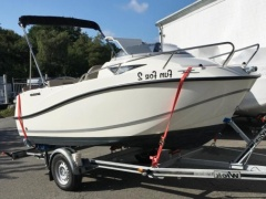 Quicksilver Activ 455 Cabin+50 PS+Trailer Pilot woonboot