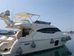 Ferretti 592 Fly Flybridge Yacht