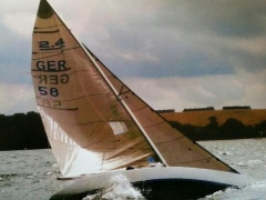 2.4mR Norlin MK III Kielboot