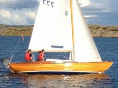 Nord. Folkeboot Nordic Folkboat. Williams. A Chiglia