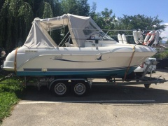 Quicksilver 625 Kabinenboot
