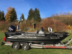 Bass Boat Mirrocraft Aggressor 1861 Sportboot