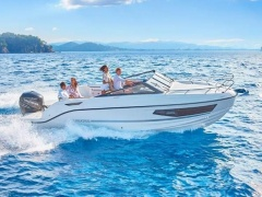 Quicksilver 755 Cruiser 250 PS MESSEBOOT Day Cruiser