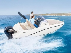 Quicksilver 605 Sundeck 150 PS MESSEBOOT Day Cruiser