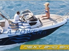 Ranieri International Next 240 SH Deckboot