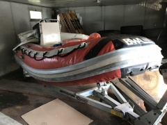 BWA 440 VTR Rubber Boat