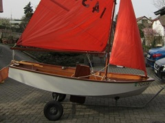 Mirror Dinghy Deriva