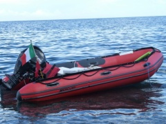Mercury Heavy Duty 415 Rubber Boat