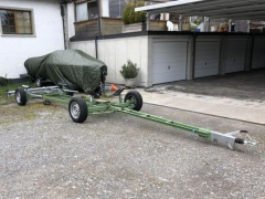 WEBER Typ A Launching Trolley