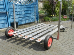 Bootswagen,Hafentrailer, Slipwagen Launching Trolley