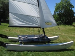 Hobie Cat 14 Turbo Regattaversion Catamarano