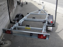 Pongratz TL 750 Single Axle