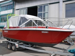 Fjord DC 21 Pilothouse Boat