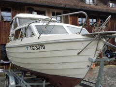 Nidelv 24 Classic Hard Top Version Pilothouse Boat