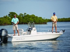 Robalo Bay Boats 206 Cayman Deckboot