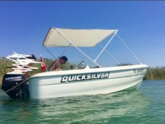 Quicksilver 410 Fish Arbeitsboot